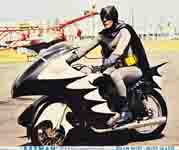Zoom for Batman & Motorcycle Image
