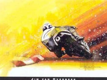 Click to Zoom on Motorcycle Racers & Racing Motorcycle Art