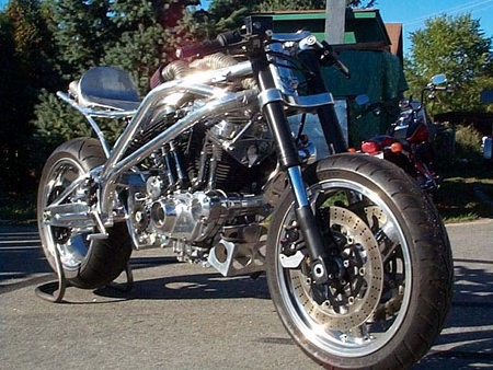 Click to ZOOM on Goldammer Cycle custom chopper motorcycles