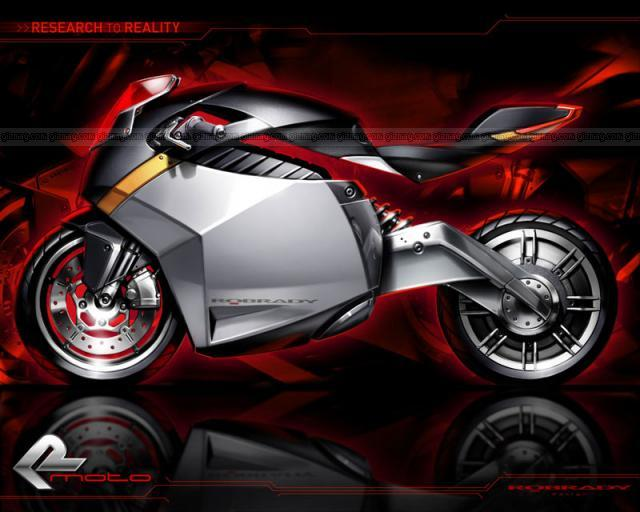Click to see Electric Concept Motorcycle photos