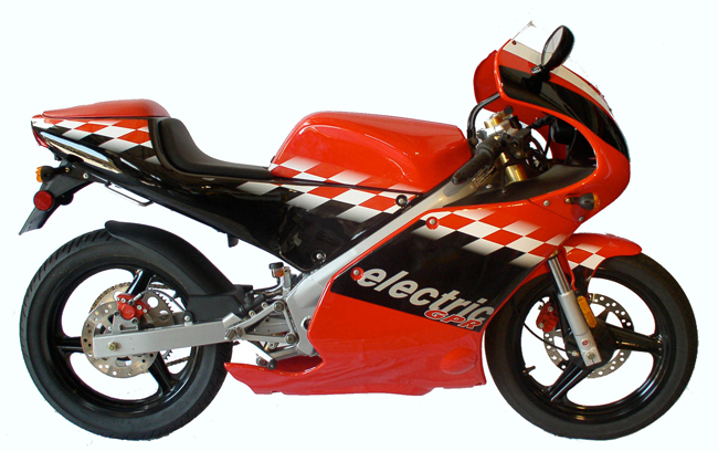 Click to see more electronic motorcycle information & photos