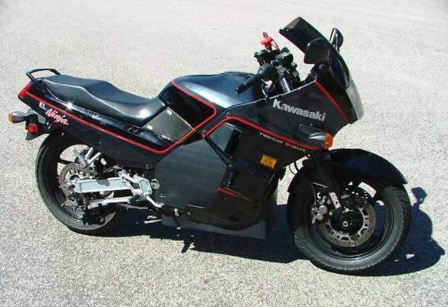 kawasaki ninja 1000 top speed. 1987 Kawasaki Ninja 750
