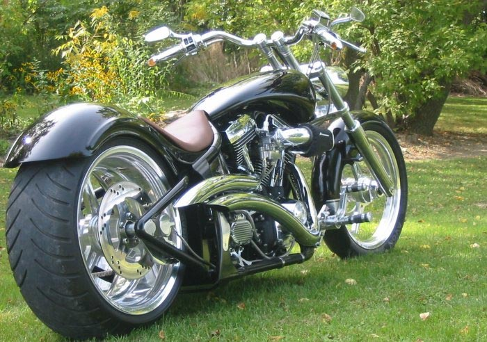Custom motorcycles in Canada