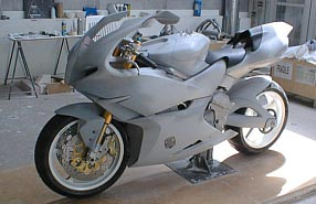 Click for LARGE image of Concept Prototype Motorcycle