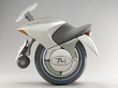 Click for LARGE image of Concept Prototype Motorcycle Design