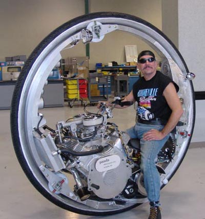 Click for Mono-One-Wheeled Motorcycles