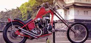 Click to Zoom on old stle motorcycle
