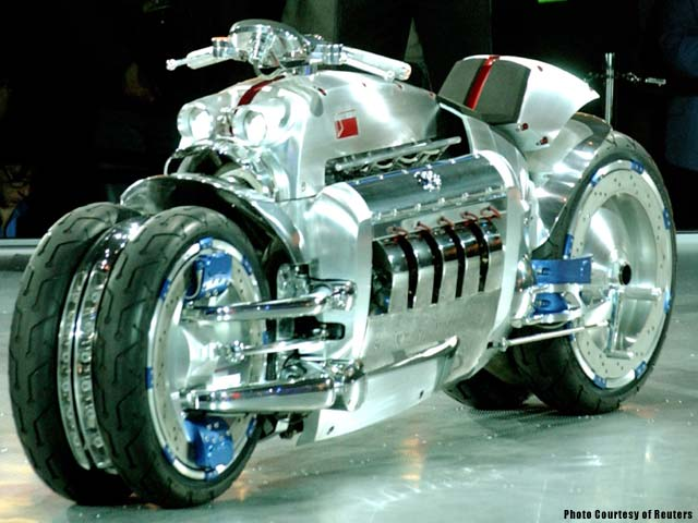 Dodge Tomahawk Concept Motorcycle PHOTOS PICTURES, custom motorcycles.