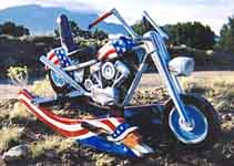 Click to Zoom on Captain America Motorcycle
