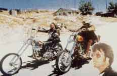 Click to Zoom on Dennis Hopper & Easy Rider Motorcycle