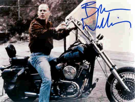 Click for Bruce Willis & Harley-Davidson