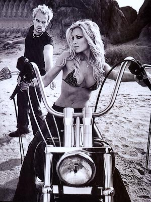 Click for Caprice Bourret & Harley