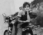 Click for Courtney Cox & motorcycle
