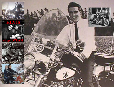 Click for Gallery of Elvis Presley & motorcycles