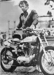 Click for Evel Knievel & motorcycle