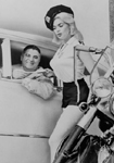 Click for Jeanne Mansfield & motorcycle