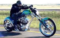 Click for Jesse James motorcycle