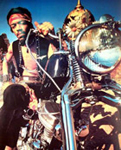 Click for Jimi Hendrix & motorcycle