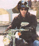 Click for Keanu Reeve & motorcycle