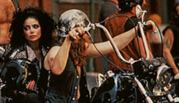Click for Latoya Jackson & motorcycle