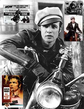 Click for Marlon Brando & movies & motorcycles