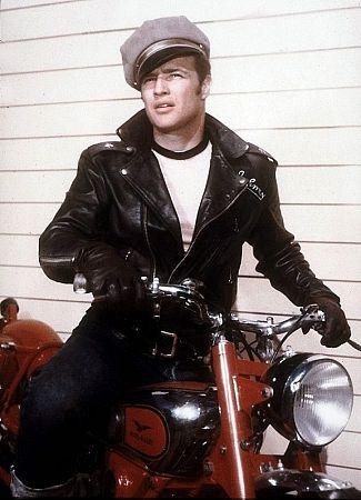 Marlon Brando Motorcycle Photo Gallery