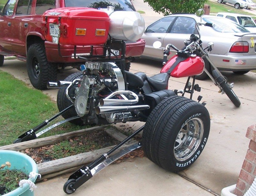 Click for ZOOMED Chopper Trike Picture